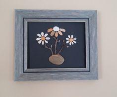 Valentine's  Day gift Rock flower art pebble от madebynatureandme