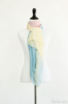 """faded scarf - pink 