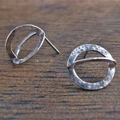 same same but different earrings recycled sterling by markaplan, $888.88