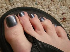 Bluish Silver, Grey with Gold Glitter, Shimmer, Cosmic Nail paints Men Nail Polish, Toe Polish, Nail Polish Colors, Cosmic Nails, Mens Nails, Painted Toes, Sexy Toes, Grey And Gold, Toe Rings