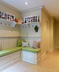 Shelf and coat hook combo