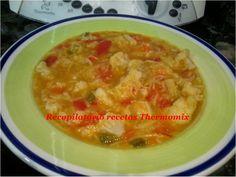 Recopilatorio de recetas : Sopa de coliflor con pasta en Thermomix