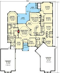 House Plans & Designs - Build Your Dream Home Plans at Monster House ...