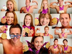 Medals on medals! #TeamUSA #swimming