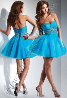 So pretty!  What makes this dress special is the the tie up back!  No alterations!! Flirt pf5021 $328