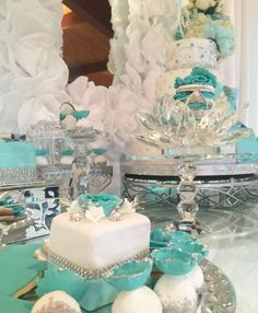 Tiffany Quinceañera Party Ideas   Photo 3 of 24
