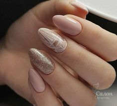Nail art Christmas - the festive spirit on the nails. Over 70 creative ideas and tutorials - My Nails Spring Nail Art, Spring Nails, Prom Nails, Wedding Nails, Hair And Nails, My Nails, Nail Polish, Nail Nail, Nude Nails
