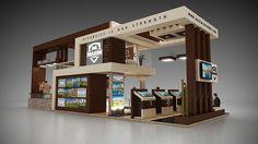 A proposal design for Maxim Holding at City Scape Dubai 2014