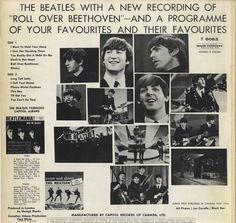 The Beatles Long Tall Sally - Orange Label Canada vinyl LP album
