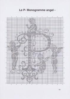 Gallery.ru / Фото #5 - JD327 - Monogrammes Angels - lyulnar
