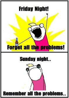 How weekends work…