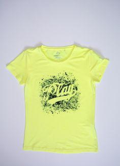 Kup mój przedmiot na #vintedpl http://www.vinted.pl/damska-odziez/koszulki-z-krotkim-rekawem-t-shirty/13525182-zolta-bluzka-vero-moda-m-nowe