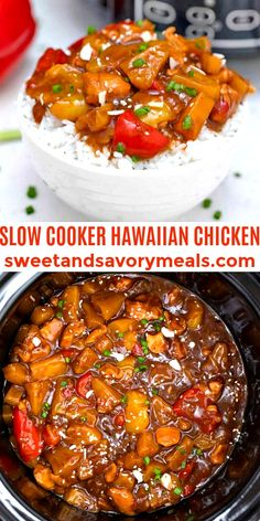 Best Slow Cooker, Slow Cooker Recipes, Crockpot Recipes, Easy Recipes, Easy Meals, Crock Pot Cooking, Cooking Tips, Hawaiian Chicken Slow Cooker, Dinner Ideas