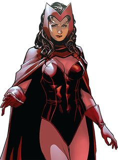 Scarlet Witch - Marvel Comics - Avengers - Early years