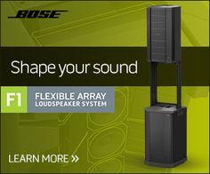 Bose: impianto PA flessibile F1 | ZioMusic.it