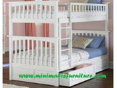 http://www.minimalisfurniture.com/ranjang-anak-tingkat-putih.html