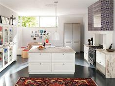 weiße Küche mit Kochinsel   Küchen mit Kochinsel   Pinterest   {Küchenplaner kochinsel 96}