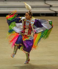 Fancy/Fringe Dancer by Tobyotter, via Flickr
