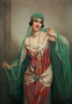 Painterlog.com: Francois Martin Kavel (French artist, 1861-1931) http://www.pinterest.com/nikitaidou/art-orientalism/