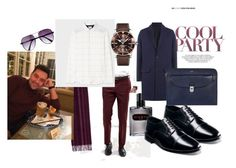 """""""First date"""" by viodelux on Polyvore featuring ASOS, Aramis, AMI, Nunn Bush, Paul Smith, Express, Tod's, PS Paul Smith, Breitling и men's fashion"""
