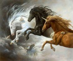 Johnny Palacios Hidalgo Kai Fine Art - Kai Fine Art Is An Art Website Shows Painting And Illustration Works All Over The World Most Beautiful Horses, Pretty Horses, Horse Love, Animals Beautiful, National Art Museum, Horse Wallpaper, Horse Artwork, Unicorn Art, Horse Drawings