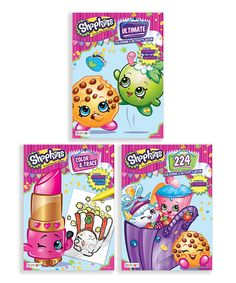 Shopkins Color & Activity Set by Shopkins™ #zulily #zulilyfinds