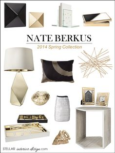Nate Berkus Target, Nate Berkus Home, Interior Design Boards, Decorating Ideas for the home, Home Decor, e-decorating, Shop this Look here, www.stellarinteriordesign.com/nate-berkus-spring-collection-for-target/