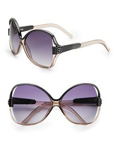 #SaksLLTrip  Different sunglasses every day accessories your look and protect your eyes.  Balenciaga - Oversized Sunglasses - Saks.com