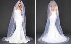 Velo de novia tipo Catedral - Foto Bebe Bridal