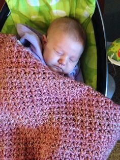 Just Like Mommy's baby blanket To see more or place an order visit https://m.facebook.com/Brandyscutecrochetcreation?ref=bookmark