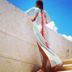 Missoni Striped Kaftan Available at Saks