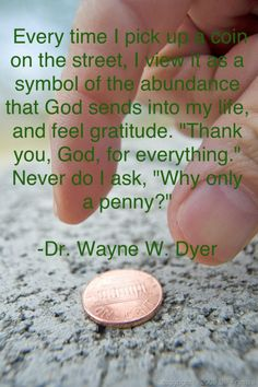 Found pennies are God's whispers encouraging us to trust him with little, so we will be confident to trust him in the big things.