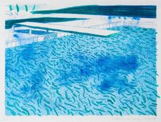 David Hockney Piscina