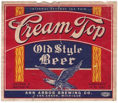 Cream Top Old Style Beer