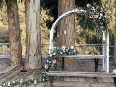 Magdalena, Outdoor Structures, Wreaths, Garden, Ideas, Home Decor, Outdoor Ceremony, Saint Joseph, Arches