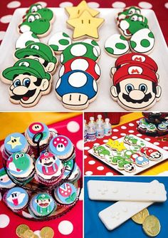 Super Mario Brothers cookies!