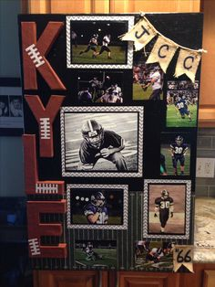 Super sport poster ideas for boyfriend boys ideas. best sports gifts ideas on senior night football gifts, football player gifts, Football Banquet, Football Signs, Football Crafts, Football Cheer, Baseball Mom, Football Players, Senior Football Gifts, Football Locker Decorations, Football Centerpieces