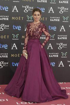Blanca Suarez in Zuhair Murad #GoyaAwards2015