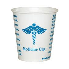A handy tool for measuring and tracking fluid intake during the first few days post op. Aim to sip 1-2 ounces every 15 minutes.