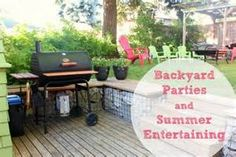 party and entertaining ideas for hosting a backyard party #contest