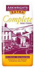 15 kg. Arkwrights Extra Hundefoder til Aktive hunde, 15 kg - Dog Food Recipes, Protein, Doggies