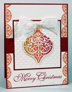 Ombre Christmas by Jeanne S - Cards and Paper Crafts at Splitcoaststampers
