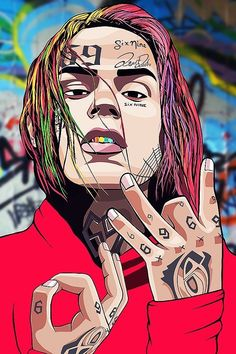 Stream Type Beat Tekashi ''Prison'' Trap/Rap Beat Instrumental (Vibzer Production) by Vibzer Production from desktop or your mobile device Blood Wallpaper, Rap Wallpaper, Cartoon Wallpaper, Rapper Art, Rap Beats, Dope Wallpapers, Hip Hop Art, Lil Pump, American Rappers