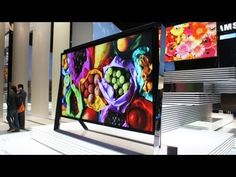 Samsung 110 Zoll UHD Smart TV CES 2013