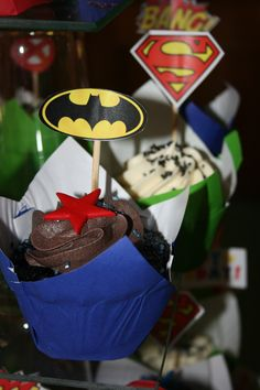 My husbands 40th B-day Party - SUPER HERO's
