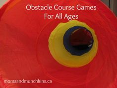 Fun Obstacle Course Games for many different ages and party types!