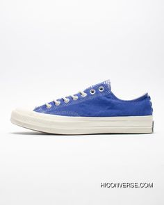 55aa0332a147 Online French Blue Attune Simplified NBHD Converse Chuck Taylor All Star 70  OX French Workwear Low Canvas Vulcanized Sneakers Corduroy Patch Blue  158605 C
