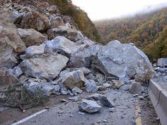 Types of Wasting: Slump, Rockslide & Debris Flow | Geology IN