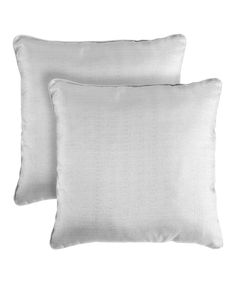 Look at this #zulilyfind! Gray Bling Throw Pillow - Set of Two by Pegasus Home Fashions #zulilyfinds