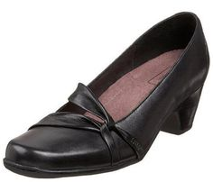 Clarks Sugar Plum in Black  #Clarks #Shoes #Champaign #IL